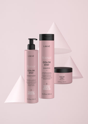 Lakme Teknia Color Stay Shampoo, Conditioner, and Treatment. SimplyBeauty.ph