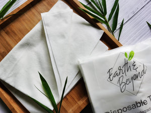 Eco-Friendly Disposable Hair Towels (2 towels per pack)