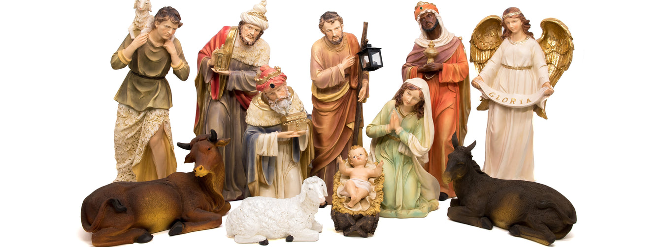 Large Nativity Figures For Schools & Churches