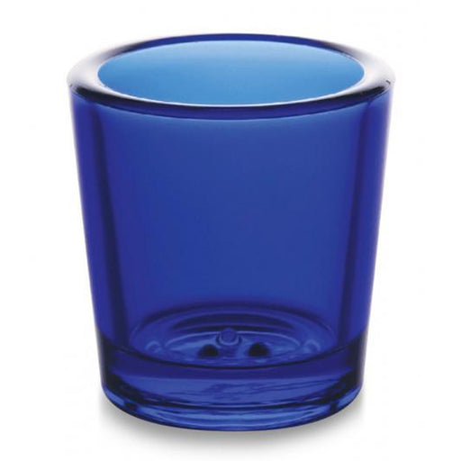 Church Sanctuary and Votum Glasses 18-24 hour Votive Glass Blue