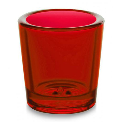 Church Sanctuary and Votum Glasses 18-24 hour Votive Glass Red