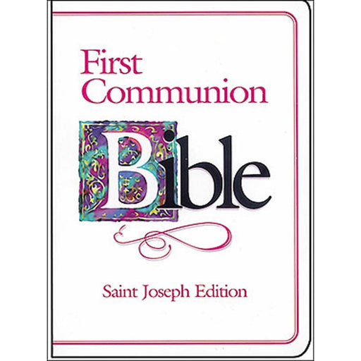 1st Communion Bible for a Girl