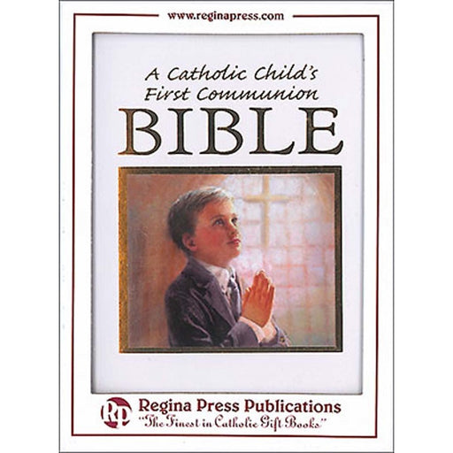 1st Holy Communion Bible for a Boy