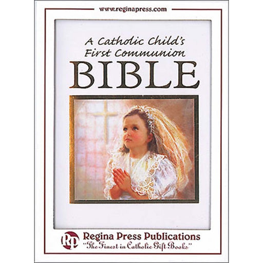 1st Holy Communion Bible for a Girl