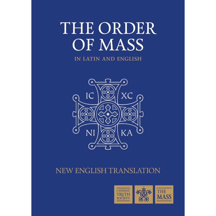 Order of Mass in Latin & English, by CTS