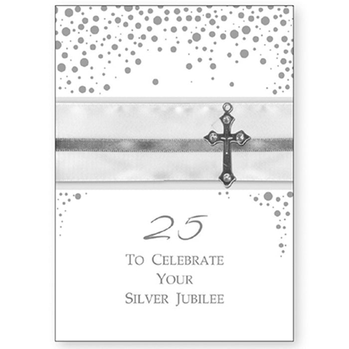 Silver Jubilee 25 Years Anniversary Of Ordination Greetings Card