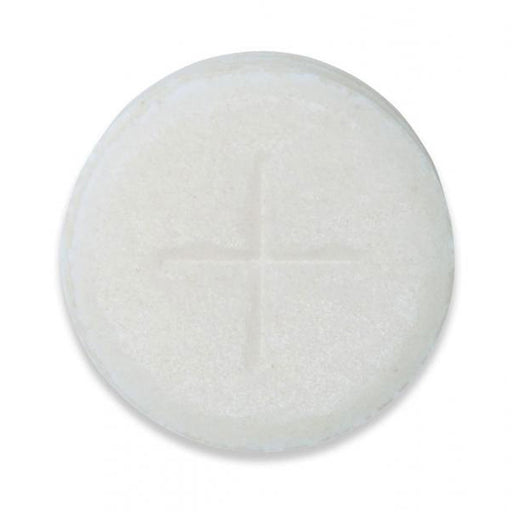 Communion Wafers, Altar Bread Sealed Edge, Quantity 300 Peoples Single Cross Design 1 1/8 Inch Diameter