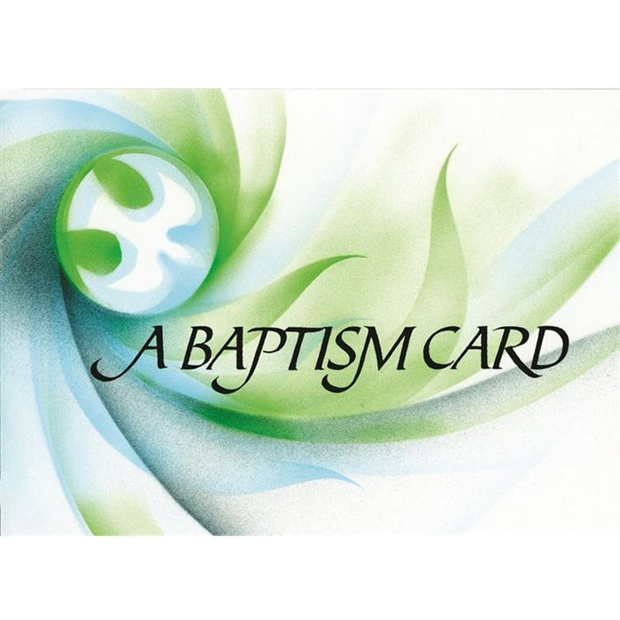 Baptism Card, Pack of 20