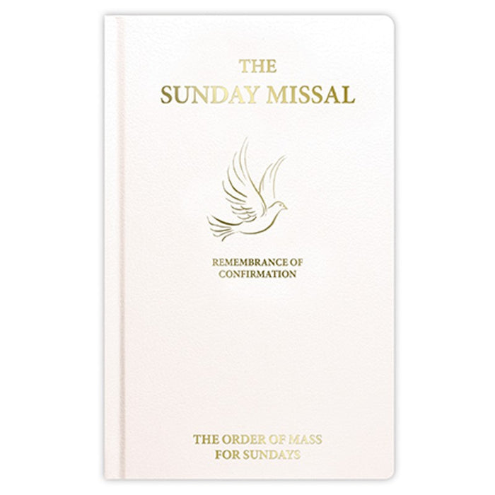 Confirmation Missal White Cover