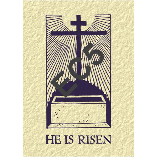 Easter Greetings Card He Is Risen