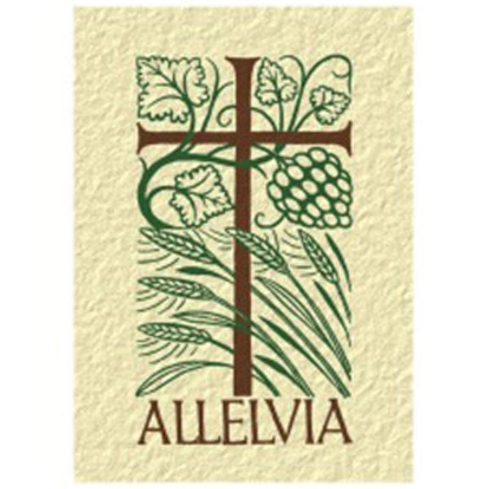 Easter Greetings Card Alleluia