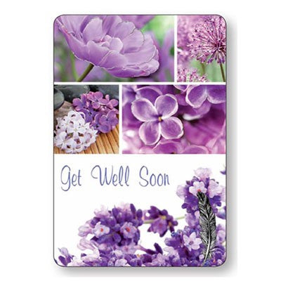 Get Well Soon Laminated Prayer Card
