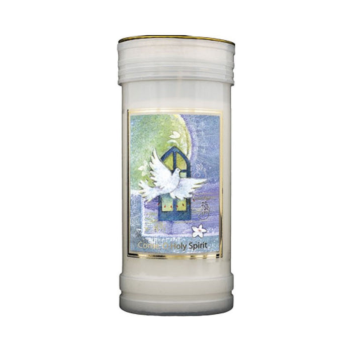 Holy Spirit Prayer Candle