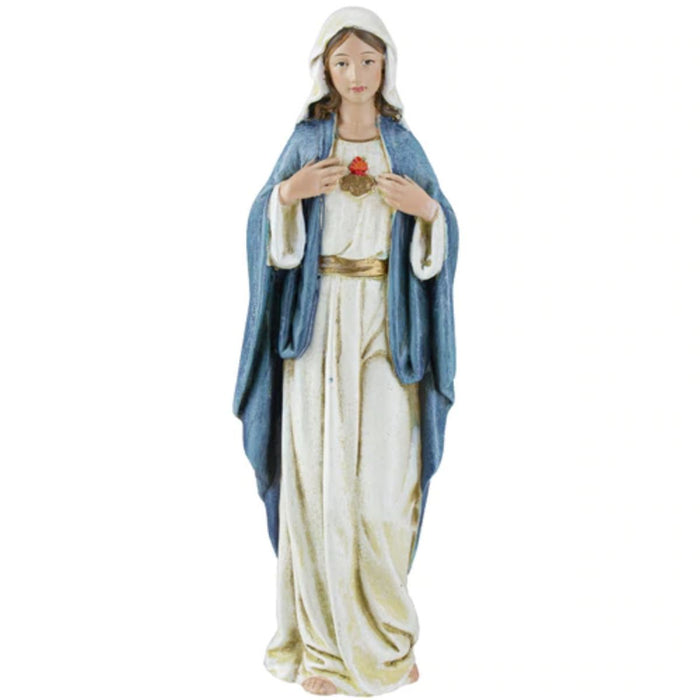 Immaculate Heart of Mary Statue 6 Inches High