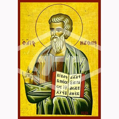 Matthew the Apostle and Disciple Icon