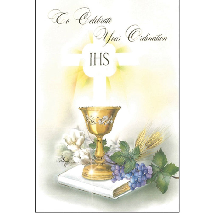 Ordination Greetings Card