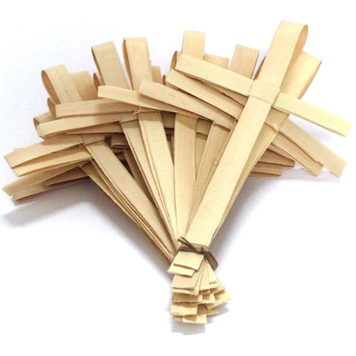 Easter Palm Sunday Crosses, African Palm Crosses Pack of 25