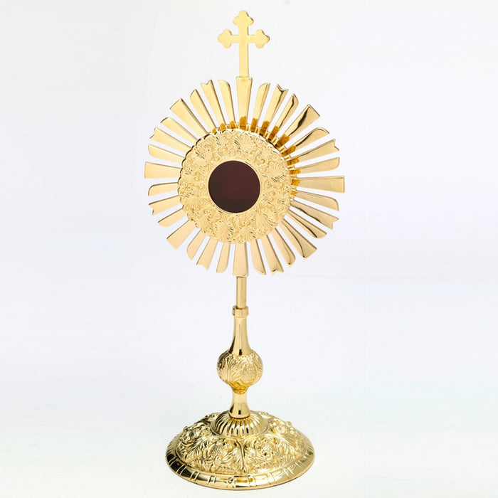 Reliquary Gold Plated 46cm High