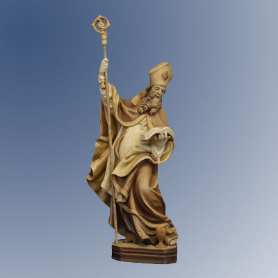 St Richard Statue 16 Inches High Woodcarving