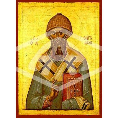Spyridon of Cyrpus Icon