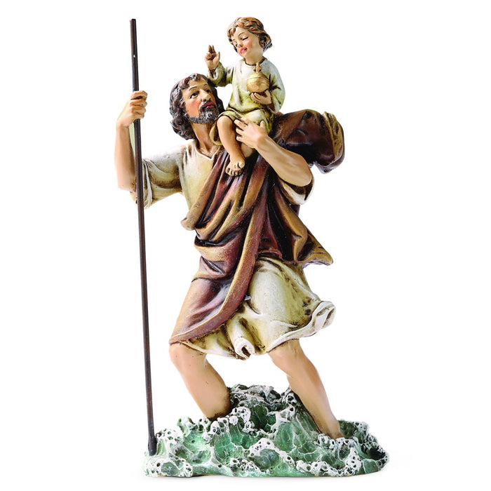 St Christopher Statue 6 Inches High