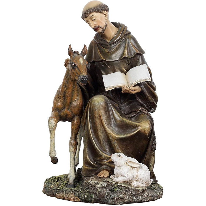 St Francis of Assisi statue  8 Inches High