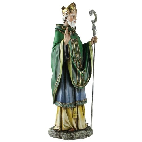 St Patrick Statue 14 Inches High