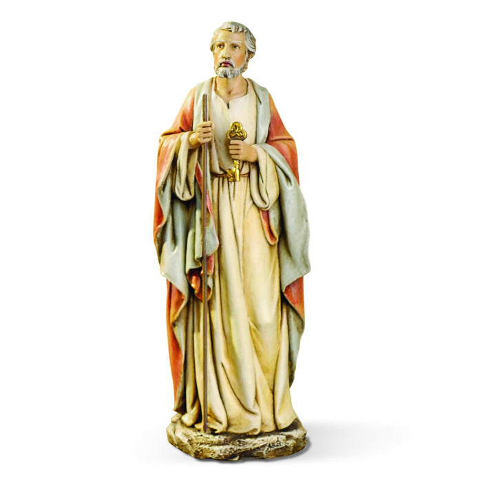 St Peter The Apostle Statue 10 Inches High