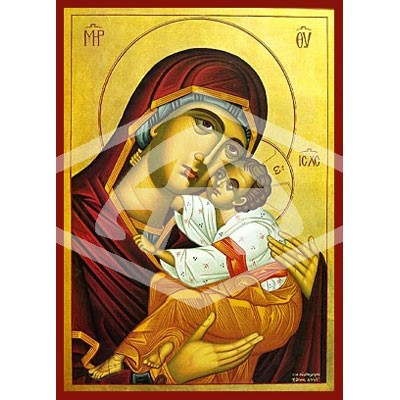 Virgin And Child Tenderness Icon