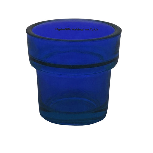 Church Sanctuary and Votum Glasses Votive Glass Blue
