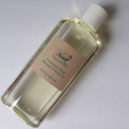 Eucalyptus Mint Massage and Body Oil