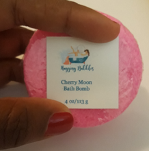 Load image into Gallery viewer, Cherry Moon Bath Bomb