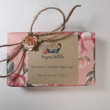 Load image into Gallery viewer, Rosemary Lavender Mint Soap
