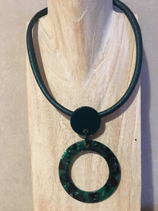 Green Necklace by Zelly