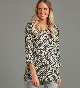 Sway Print Isabelle Top