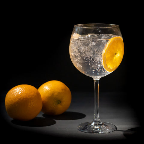 Wolftown Gin and Tonic with two oranges