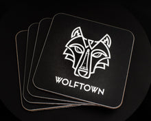 Load image into Gallery viewer, Wolftown Drinks Coasters Pack of 4 - Wolftown Distillery