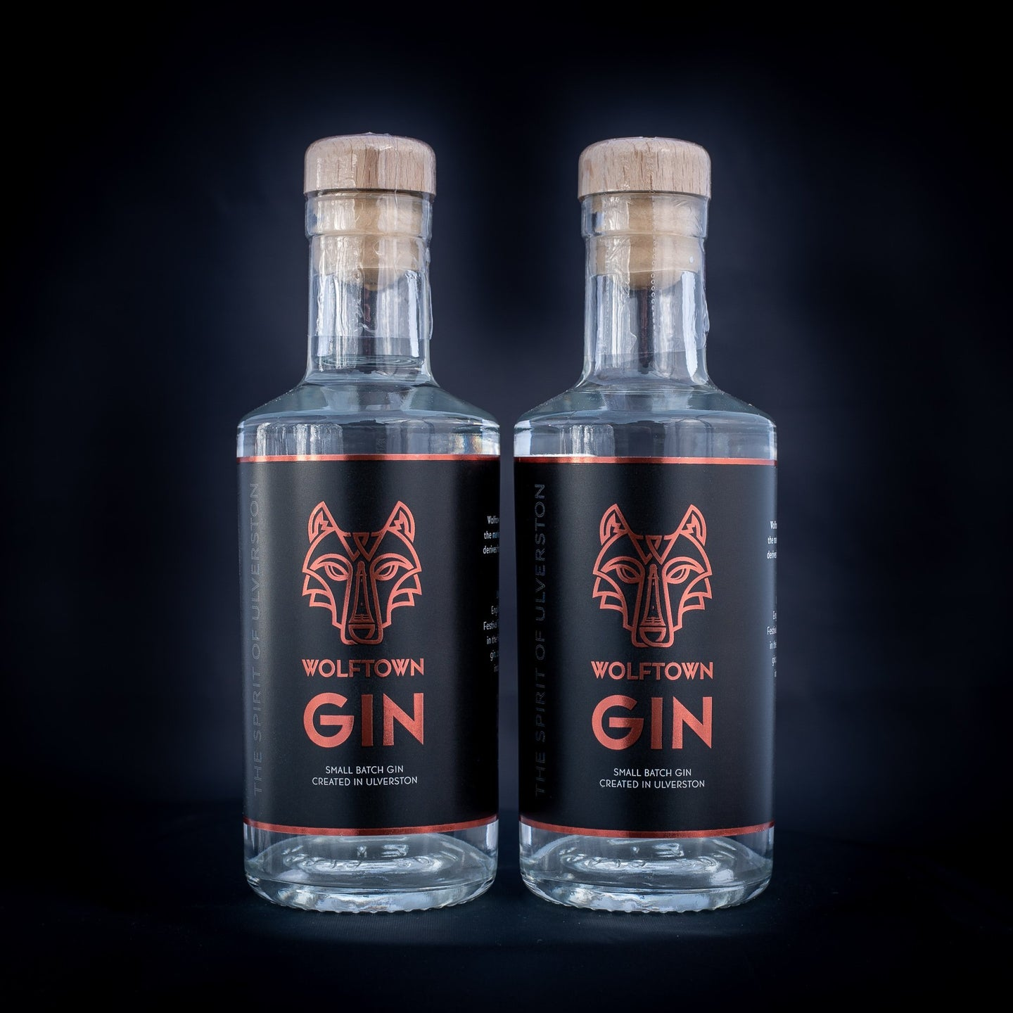 Wolftown Gin 20cl Twin Pack - Wolftown Distillery