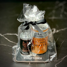 Load image into Gallery viewer, Wolftown Gin and Tonic Coaster Gift Bag - Wolftown Distillery
