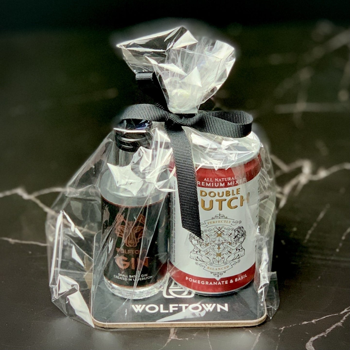 Wolftown Gin and Tonic Coaster Gift Bag - Wolftown Distillery