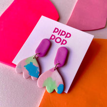 Load image into Gallery viewer, September Splash Dangles-Pipp Pop