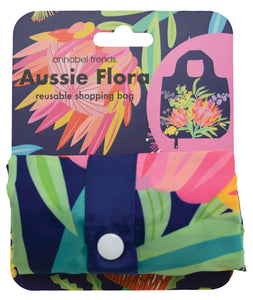 Eco Shopping Tote - Aussie Flora-Pipp Pop