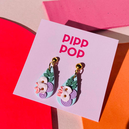 Pip's Poppies Dangles-Pipp Pop
