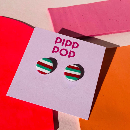 Christmas Studs-Pipp Pop