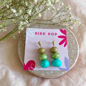 Party Popper Dangles-Pipp Pop