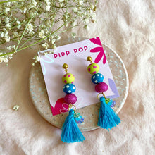 Load image into Gallery viewer, Party Popper Tassel Dangles-Pipp Pop