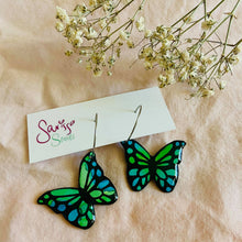 Load image into Gallery viewer, Sarissa Studs - Butterfly Hoops-Pipp Pop