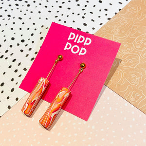 Pendre Drop Earrings-Pipp Pop