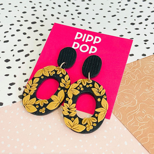Nouveau Floral Dangle-Pipp Pop
