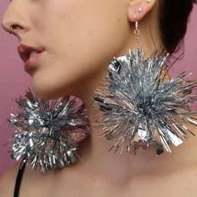 Load image into Gallery viewer, Leo the Label - Pom Pom Dangle Earrings-Pipp Pop